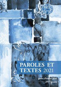 Paroles et Textes 2021