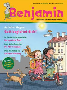 Flex-Abo (jederzeit kündbar) Kinderzeitschrift Benjamin