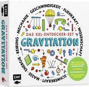 Das XXL-Entdecker-Set - Gravitation: Mit genialer Kugelbahn zum Selberbauen, Sachbuch, Experimenten und spektakulären Effekten Colson, Rob 9783745906127