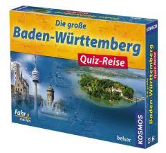 Die große Baden-Württemberg Quiz-Reise  9783763026029