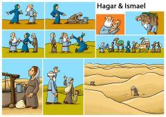 Hagar und Ismael