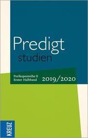 Predigtstudien 2019/2020 Johann Hinrich Claussen (Dr.)/Wilhelm Gräb/Birgit Weyel u a 9783946905806
