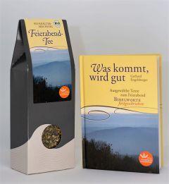 Was kommt, wird gut - Tee und Geschenkbuch
