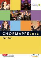 Chormappe 2012 Partitur
