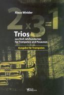 2 x 3 = 1 - Ausgabe für Trompeten