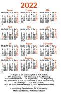 Jahreslosung 2022 Gemeindeblatt Minikalender